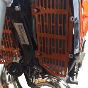 KTM SXF XCF 2016 - 2018 / All 2 & 4 ST 2017 - 2018 / HUSQVARNA FC/TC 2016 - 2018 / BILLET RADIATOR GUARDS