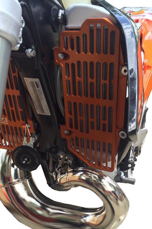 KTM SXF XCF 2016 – 2018 / All 2 & 4 ST 2017 – 2018 / HUSQVARNA FC/TC 2016 – 2018 / BILLET RADIATOR GUARDS 1