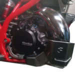 Beta All 2 Stroke X TRAINER Models 2015 ONLY Bash Plate With Pipe Guard 1
