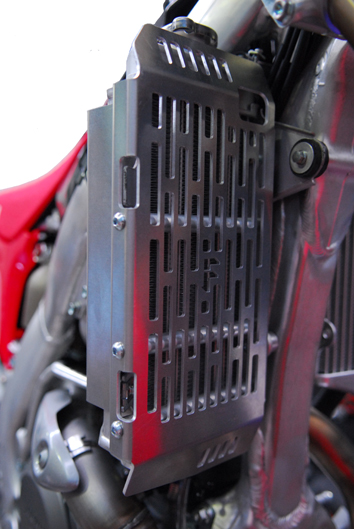 Honda CRF450R Radiator Guards 1