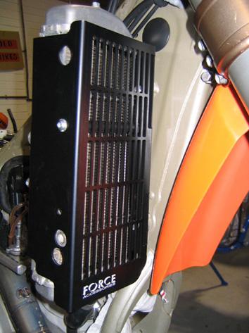 KTM 4 Stroke Radiator Guards 1