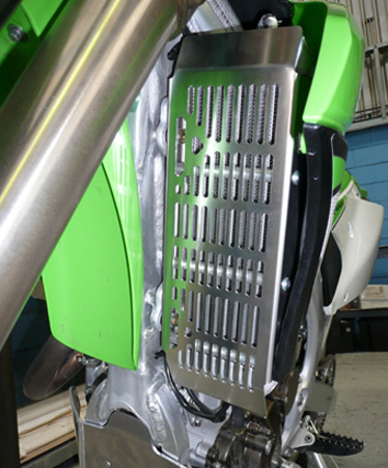 Kawasaki KLX450 & KXF450 Radiator Guards 1