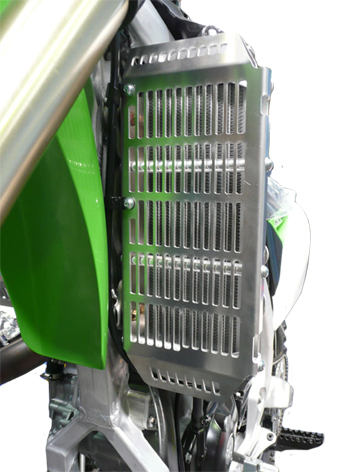 Kawasaki KXF450 Radiator Guards 1
