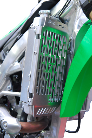 Kawasaki KXF250 Radiator Guard 1