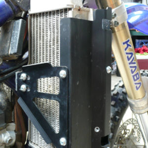 Yamaha WR250F (Steel Frame) Radiator Guards