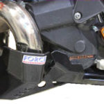 KTM 250/300 EXC 14-16 Bash Plate with Pipe Guard - FMF Gnarly Version