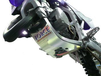 Yamaha YZ250 / 250 X 2 Stroke's Skid Plate 1