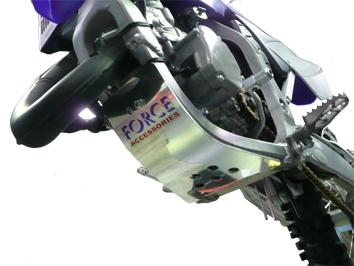 Yamaha YZ125 Skid Plate 1