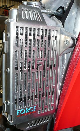 Honda CRF250R 2018 Radiator Guards 1