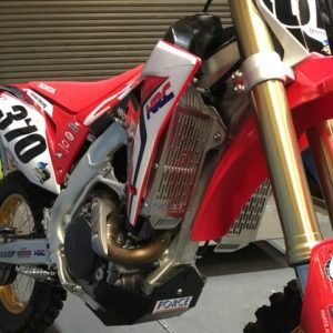 Honda CRF450R 2017 + / CRF450 RX 2017 + Radiator Guards