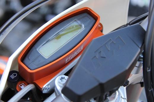 KTM Speedo Protector 08-13 EXC / FModels 1
