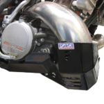 KTM 250/300 EXC '12-13 Bash Plate with Pipe Guard - Pro Circuit Version
