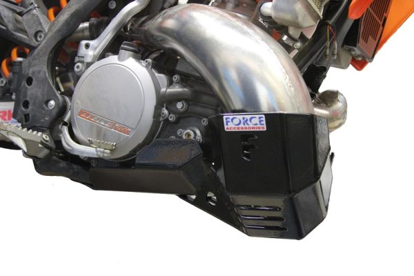 KTM 250/300 EXC '12-13 Bash Plate with Pipe Guard – Pro Circuit Version 1
