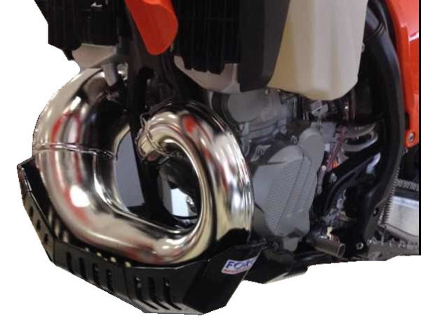 KTM 250/300 EXC 2017 – 2019 + TPI / Husqvarna TE 250 / 300 2017 – 2019 Bash Plate with Pipe Guard STANDARD PIPE ONLY 2