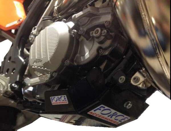 KTM 250/300 2017 – 2018 EXC + TPI / Husky TX / TE / TC 250 / 300 2017 Bash Plate 1