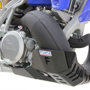 Yamaha YZ250 / YZ250X Bash Plate with FMF Pipe Guard