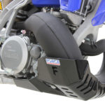 Yamaha YZ250 / YZ250X Bash Plate with Pipe Guard STANDARD PIPE ONLY 2