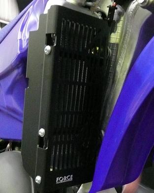 Yamaha YZ125 & 250 / YZ250X Radiator Guards 1