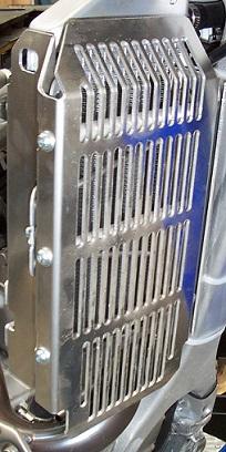 Yamaha WR450F Radiator Guards 3
